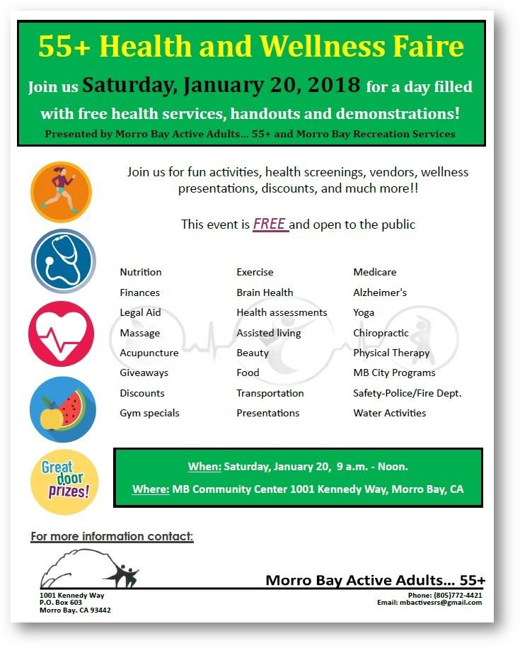 55 Plus Health and Wellness Faire
