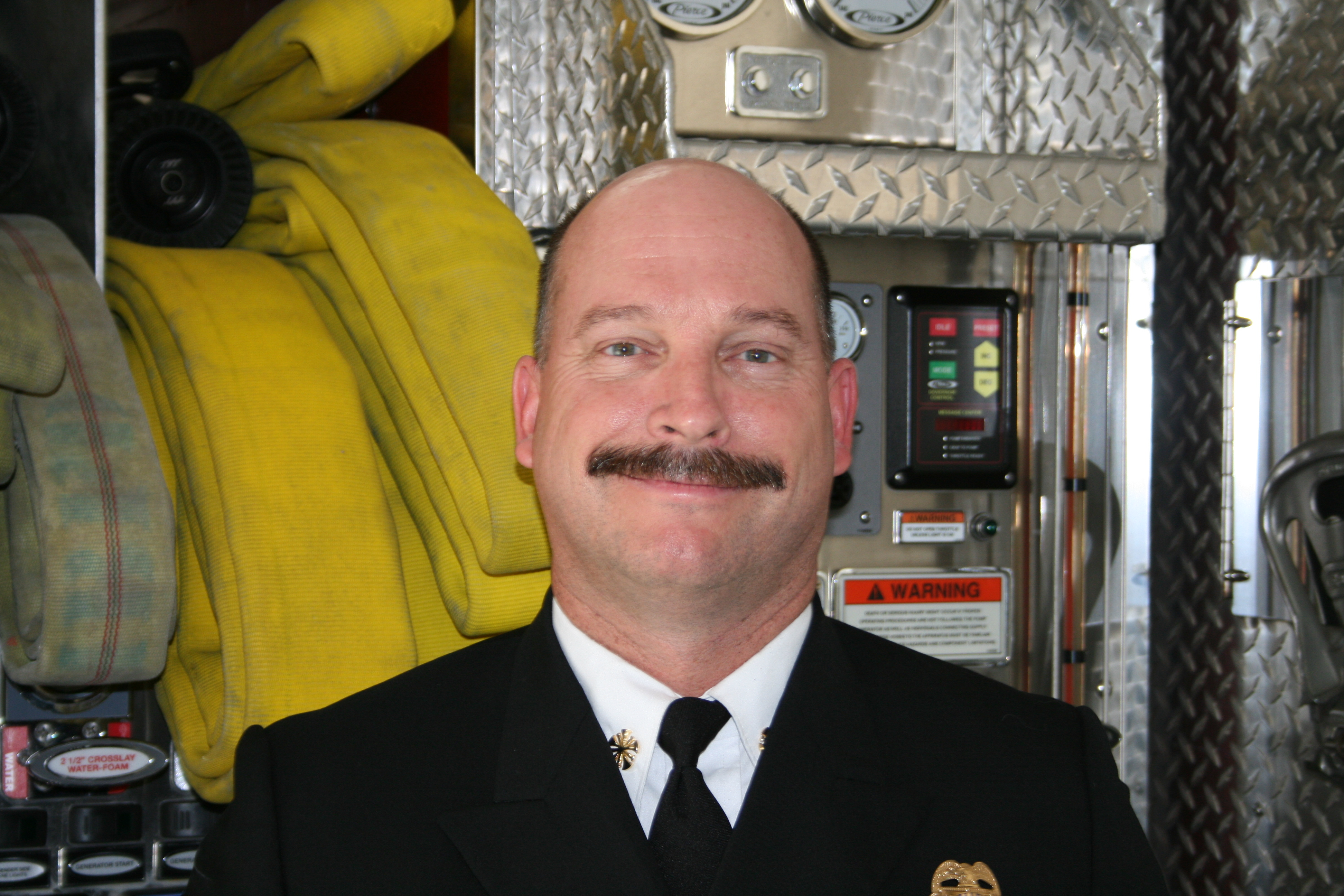 Fire Chief Steve Knuckles